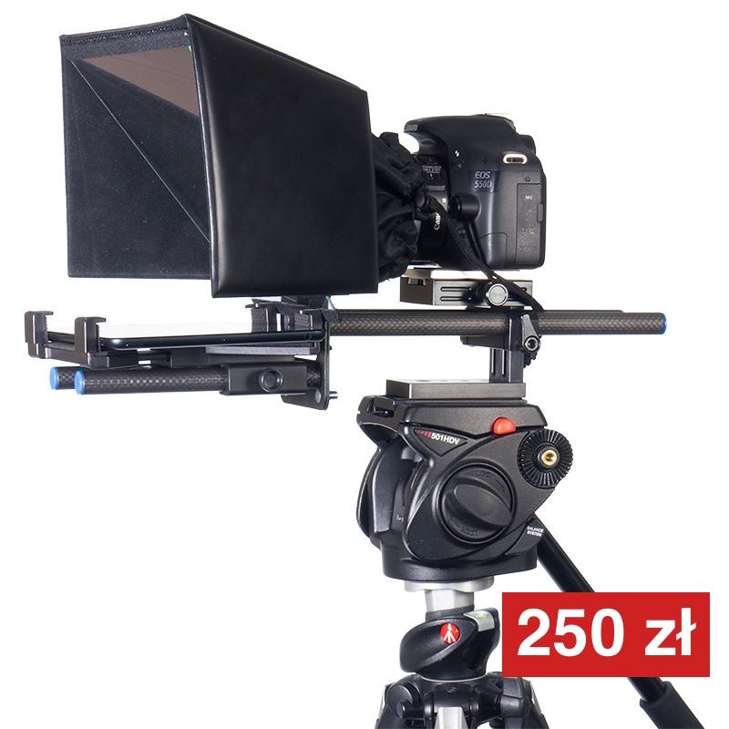 prompter do lustrzanek i małych kamer